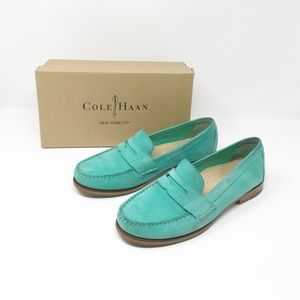 Cole Haan Alexa Penny Loafer in Blue With Box